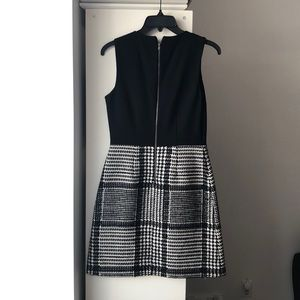 Theory black and tweed dress - excellent condition